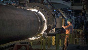 Inwestycji sprzeciwiają się między innymi Polska i USA (fot. Nord Stream 2/mat.pras.)