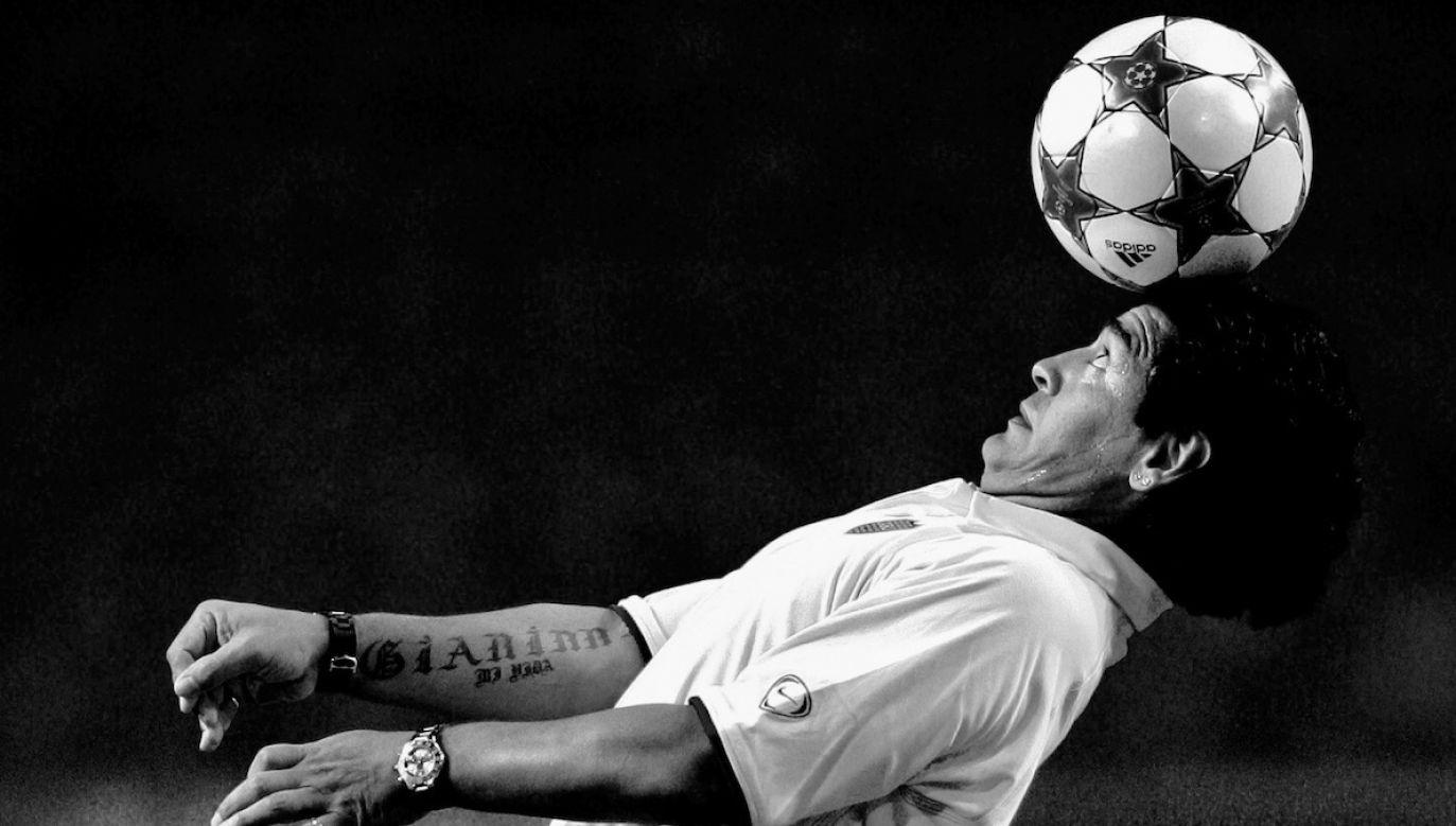 Maradona kilka tygodni temu przeszedł operację krwiaka (fot. PAP/EPA/OLAF KRAAK)