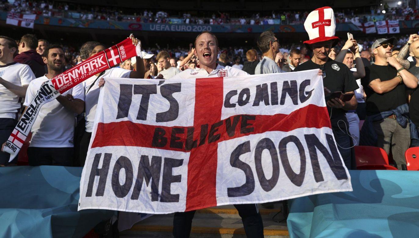 Angielscy fani (fot. Getty)