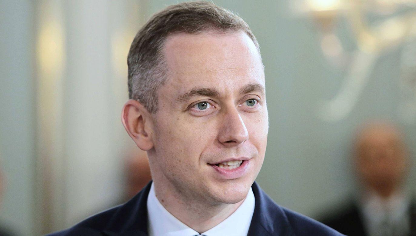 Poseł PO Cezary Tomczyk  (fot. arch.PAP/Leszek Szymański)