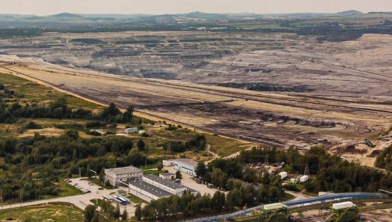 Kopalnia Węgla Brunatnego Turów w Bogatyni (fot. PAP/Aleksander Koźmiński)