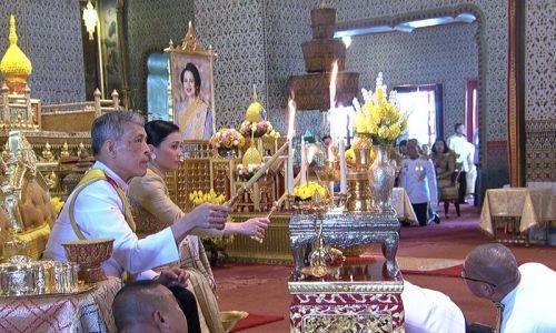 Król i królowa Tajlandii. Fot. Public Relations Department, Thailand/Getty Images