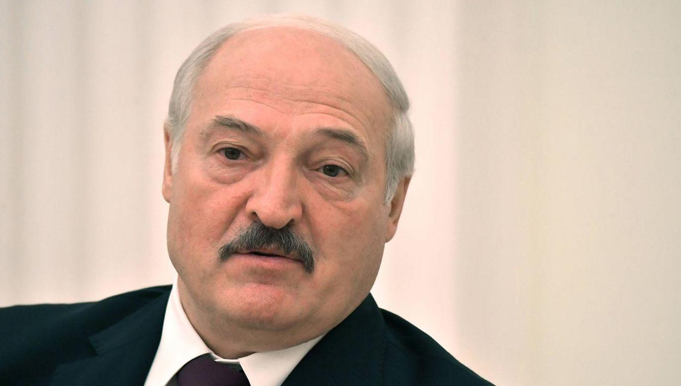Alaksander Łukaszenka (fot. PAP/MIKHAIL VOSKRESENSKIY / KREMLIN POOL / SPUTNIK)