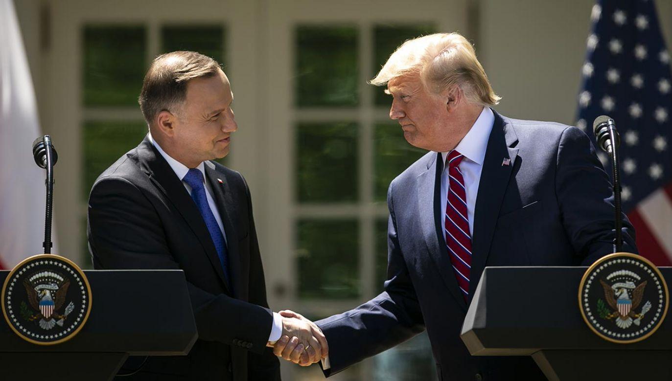 Współpracownik Trumpa o relacjach USA z Polską (fot. Al Drago/Bloomberg via Getty Images)