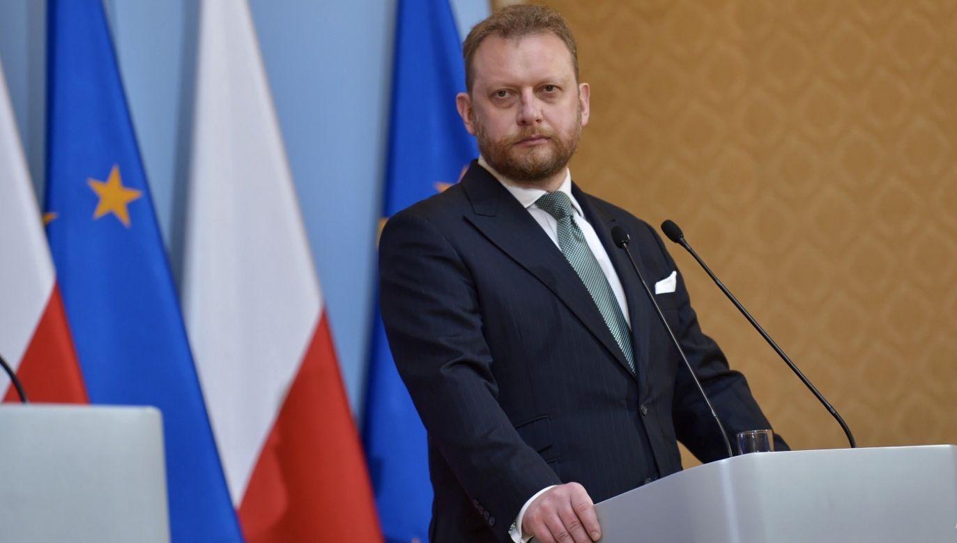 Politycy Koalicji Obywatelskiej próbowali udowodnić, że profesor Szumowski wpływał na korzyści spółki jego brata (fot. PAP/Marcin Obara)