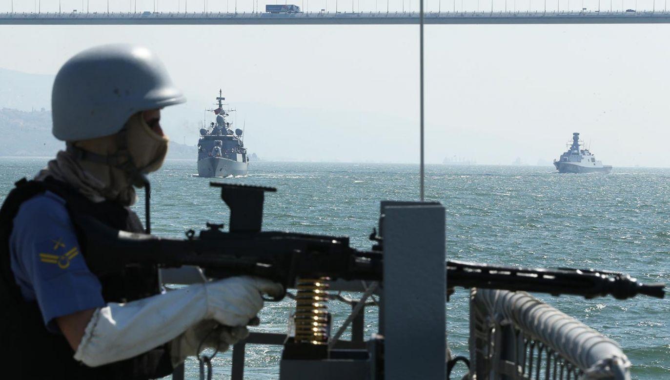 W ostatnich dniach doszło do eskalacji napięć w ramach konfliktu na Morzu Śródziemnym i w Libii, w które mniej lub bardziej zaangażowanych jest kilkanaście państw z czterech kontynentów (fot.  Tahir Turan Eroglu/Anadolu Agency/Getty Images)
