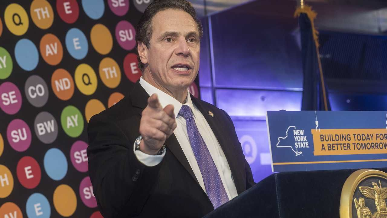 Gubernator stanu Nowy Jork Andrew Cuomo (fot. Metropolitan Transportation Authority of the State of New York)