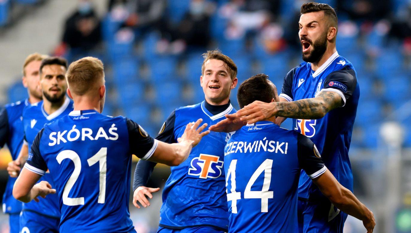 Lech Poznań młodzieżąstoi. W pierwszym zespole gra coraz więcej talentów z klubowej akademii (fot. PAP/Jakub Kaczmarczyk)