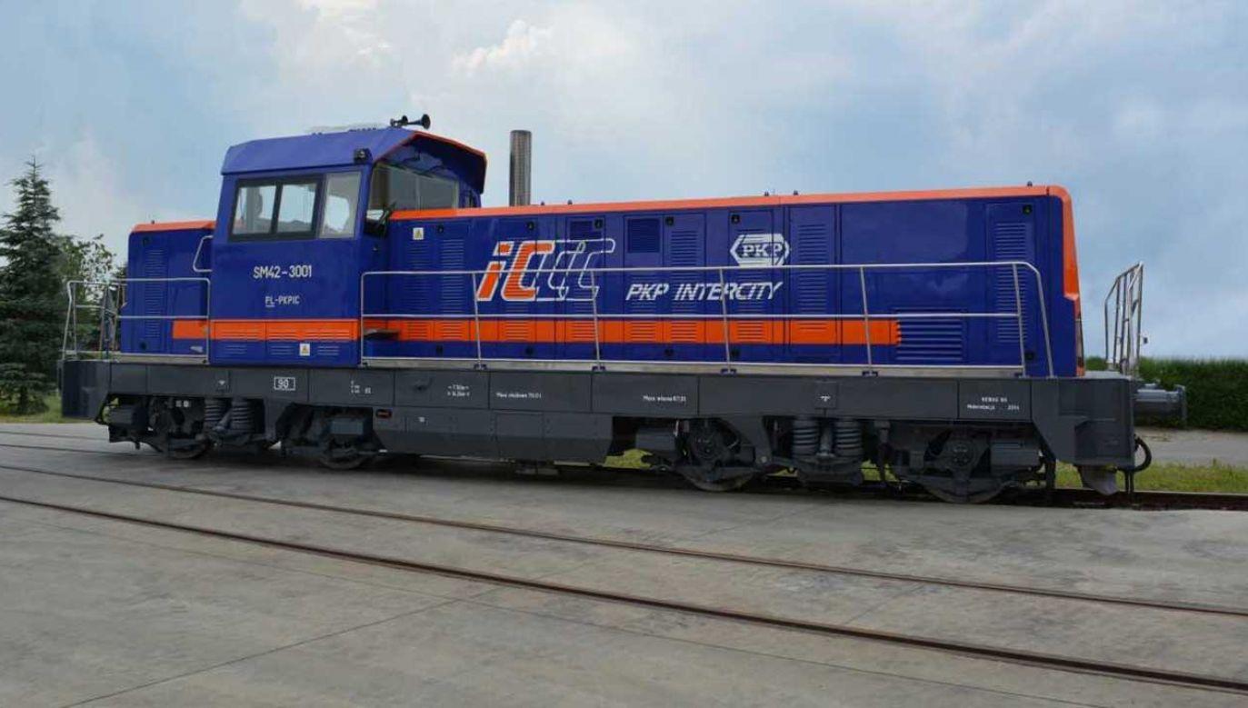 PKP Intercity przeznaczyło 90 mln na modernizacje 13 lokomotyw spalinowych serii SM42 (fot. mat. pras.)