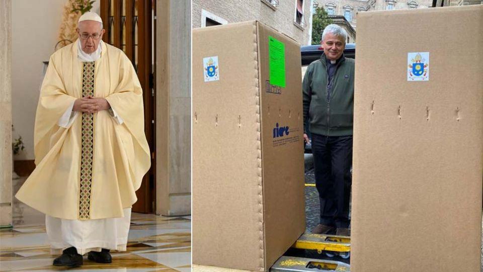 Watykan: Papież Franciszek rozsyła respiratory wieszwiecej - tvp.info