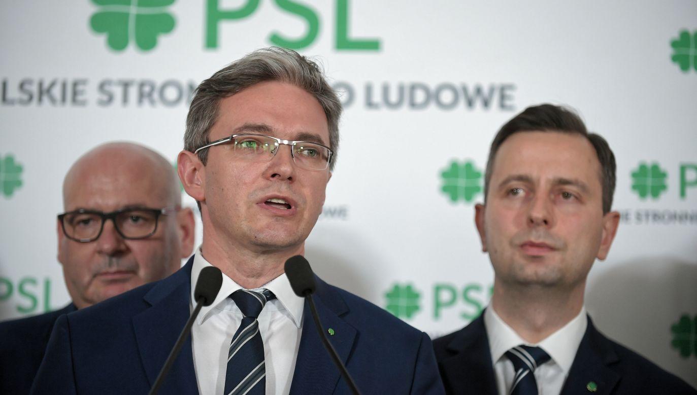 Jarubas jest wiceprezesem PSL (fot.arch.PAP/Marcin Obara)