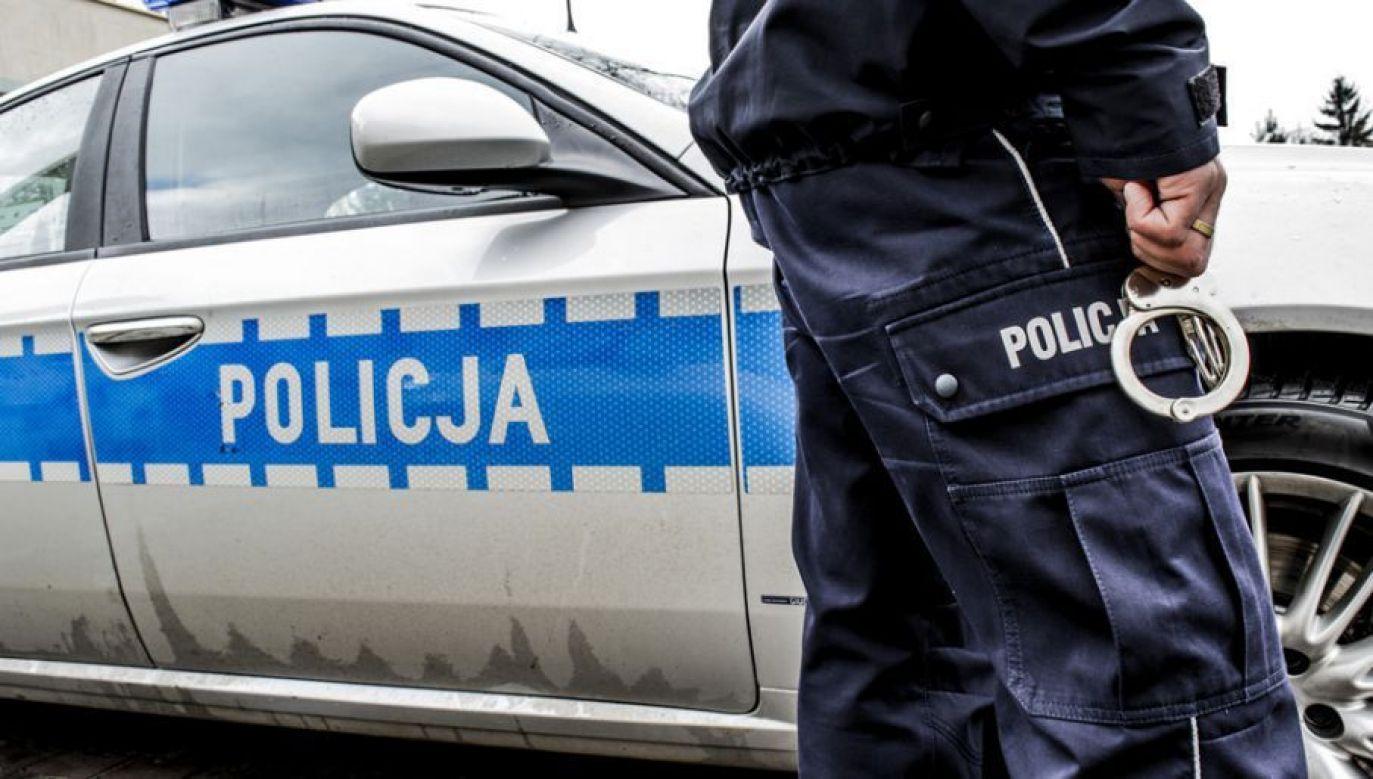Podejrzani usłyszeli w prokuraturze zarzut rozboju (fot. tvp.info/Paweł Chrabąszcz)