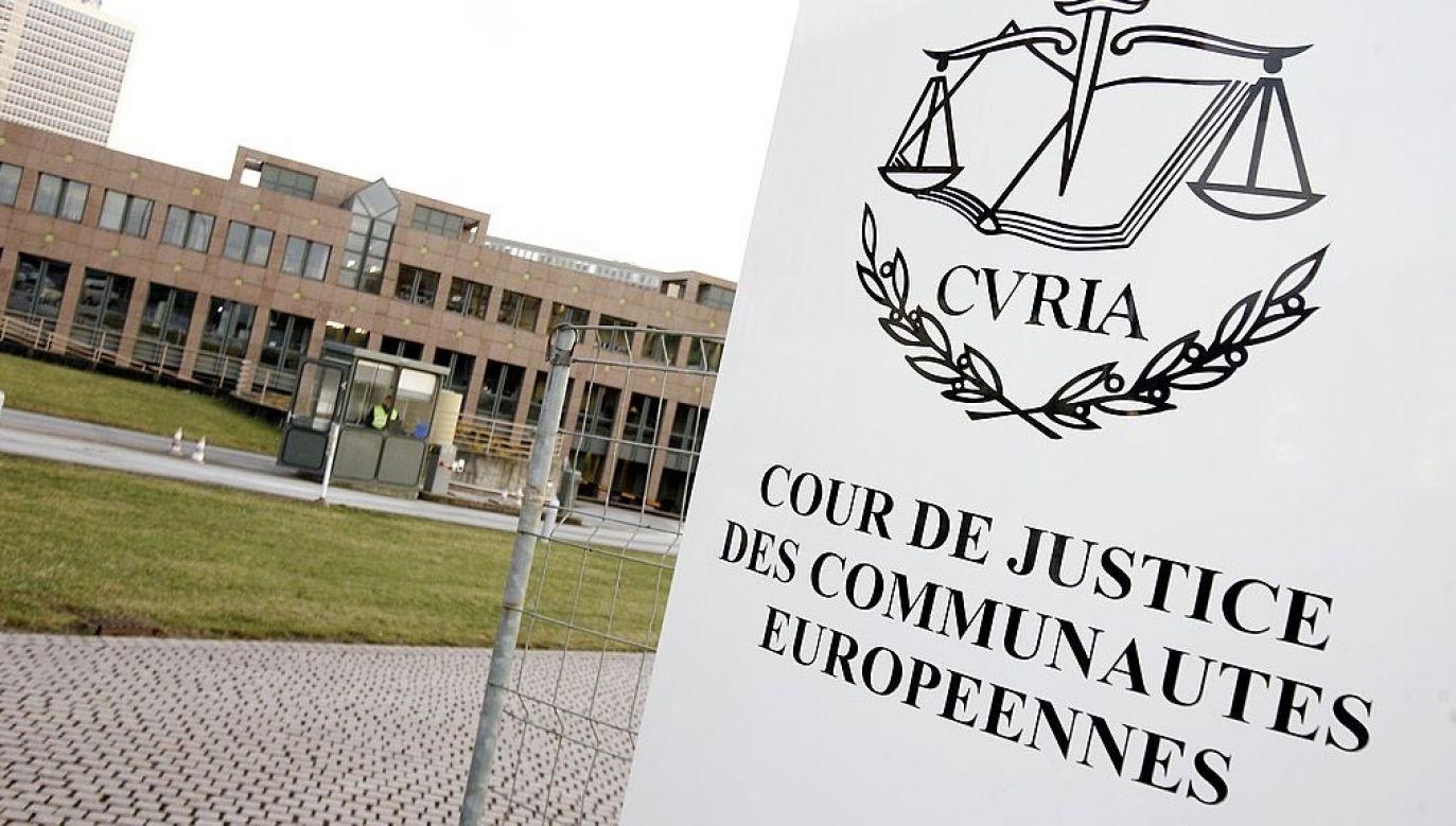 Sędziowie z Luksemburga przychylili się do wniosku Komisji Europejskiej (fot. Pierre HOUNSFIELD/Gamma-Rapho via Getty Images)