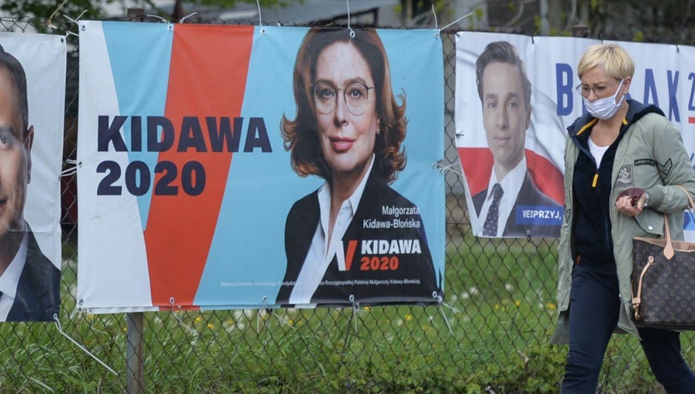 Kampania prezydencka Małgorzaty Kidawy-Błońskiej kosztowała prawie 8 mln zł (fot. Artur Widak/NurPhoto via Getty Images)