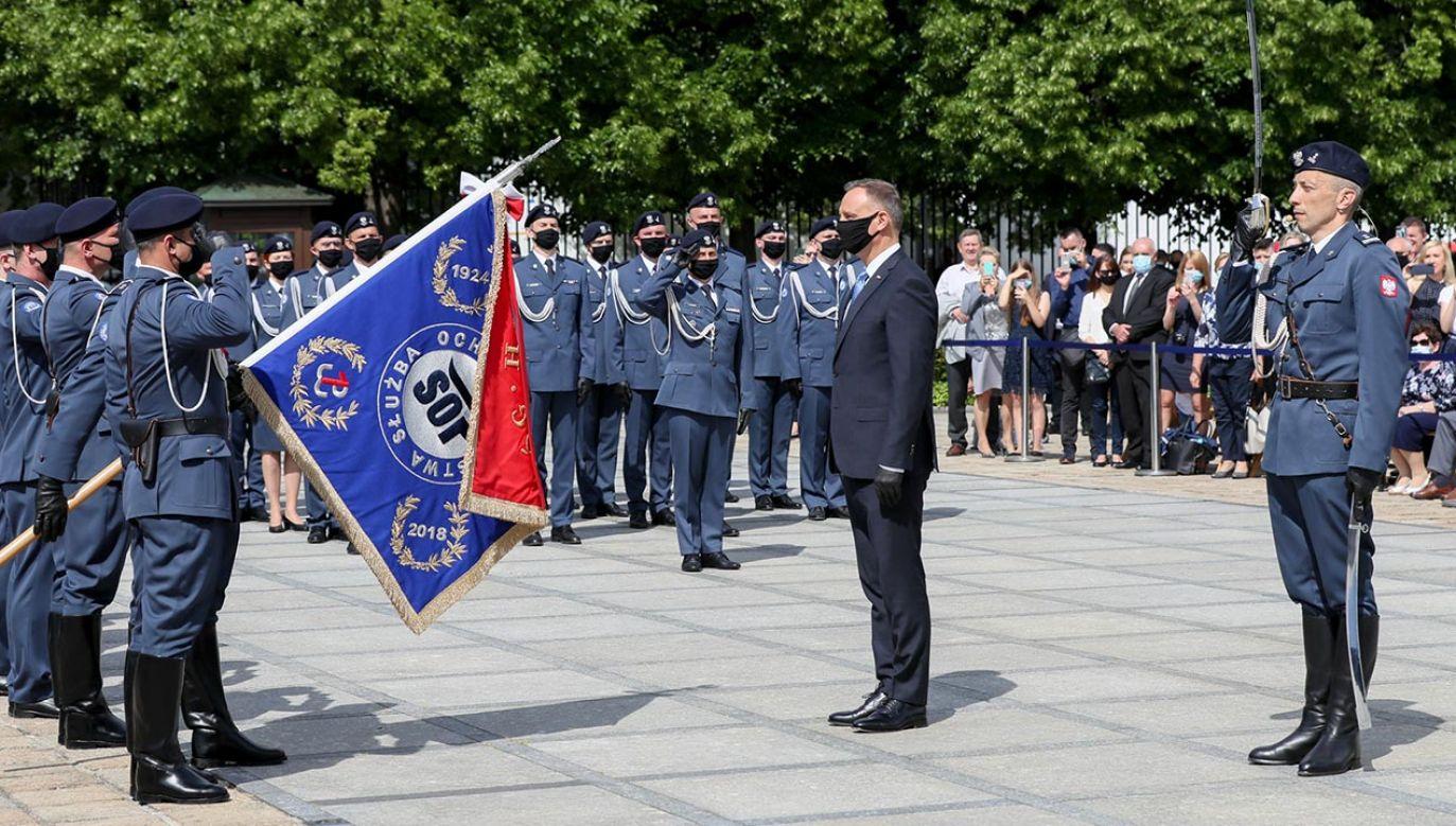 12 czerwca obchodzone jest Święto Służby Ochrony Państwa (fot. Marek Borawski/KPRP)