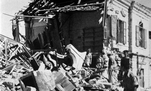 W lipcu 1946 Irgun wysadził siedzibę władzy brytyjskich w Palestynie, która mieściła się w hotelu