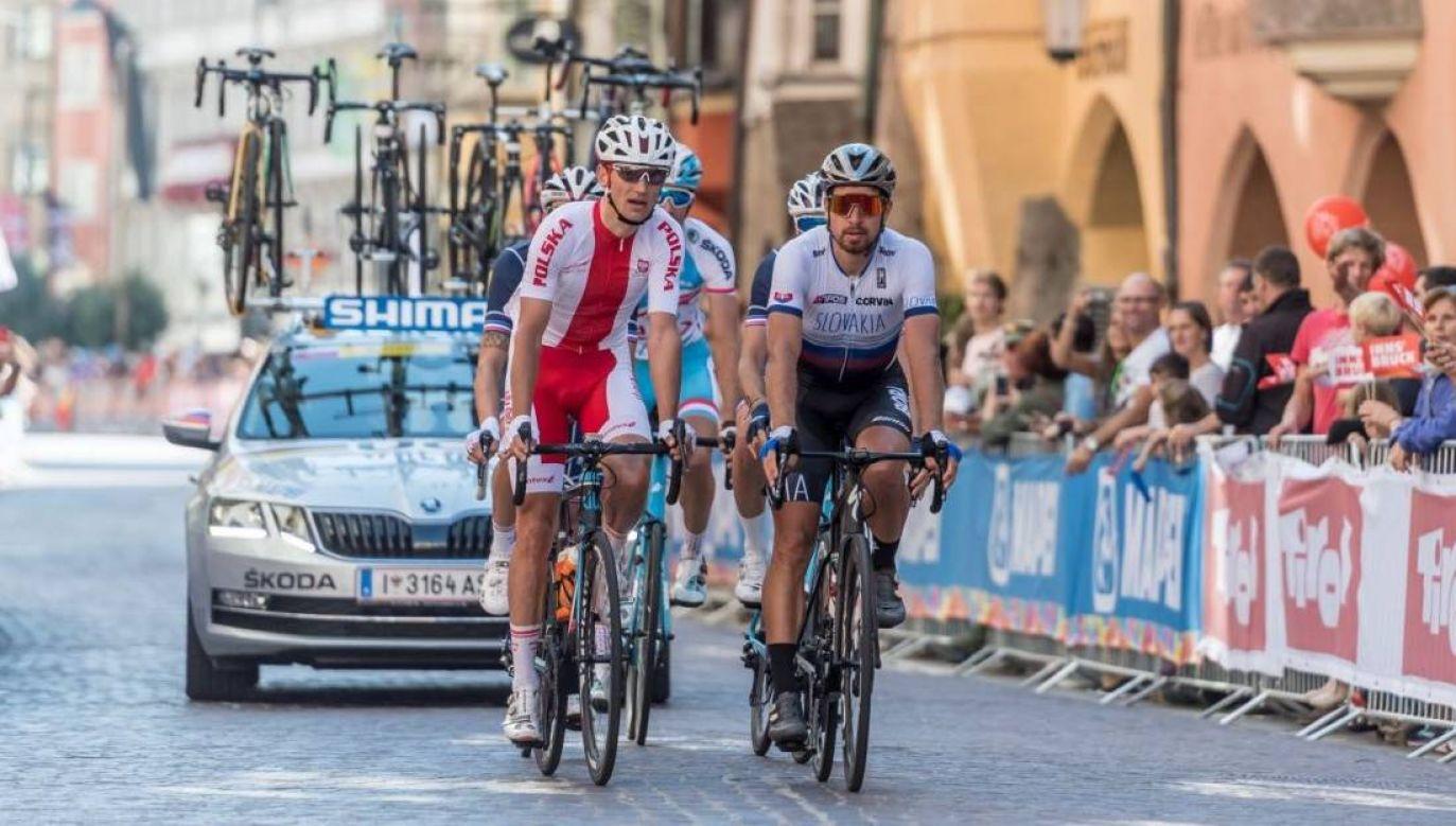 Maciej Paterski wystartuje w Tour de Pologne (fot. Getty)