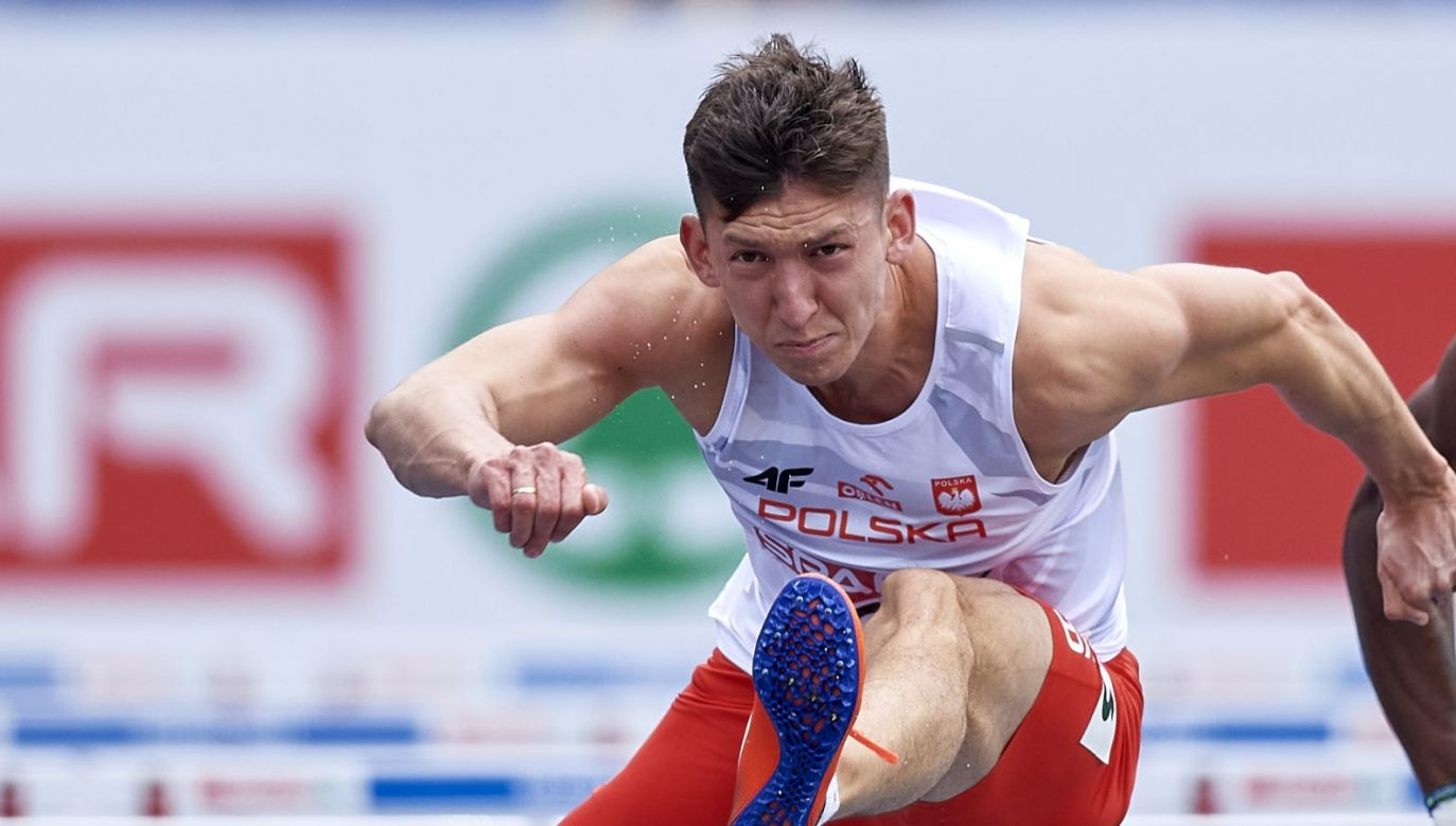 Damian Czykier wystąpi w półfinale na 110 m przez płotki (fot. Getty Images)
