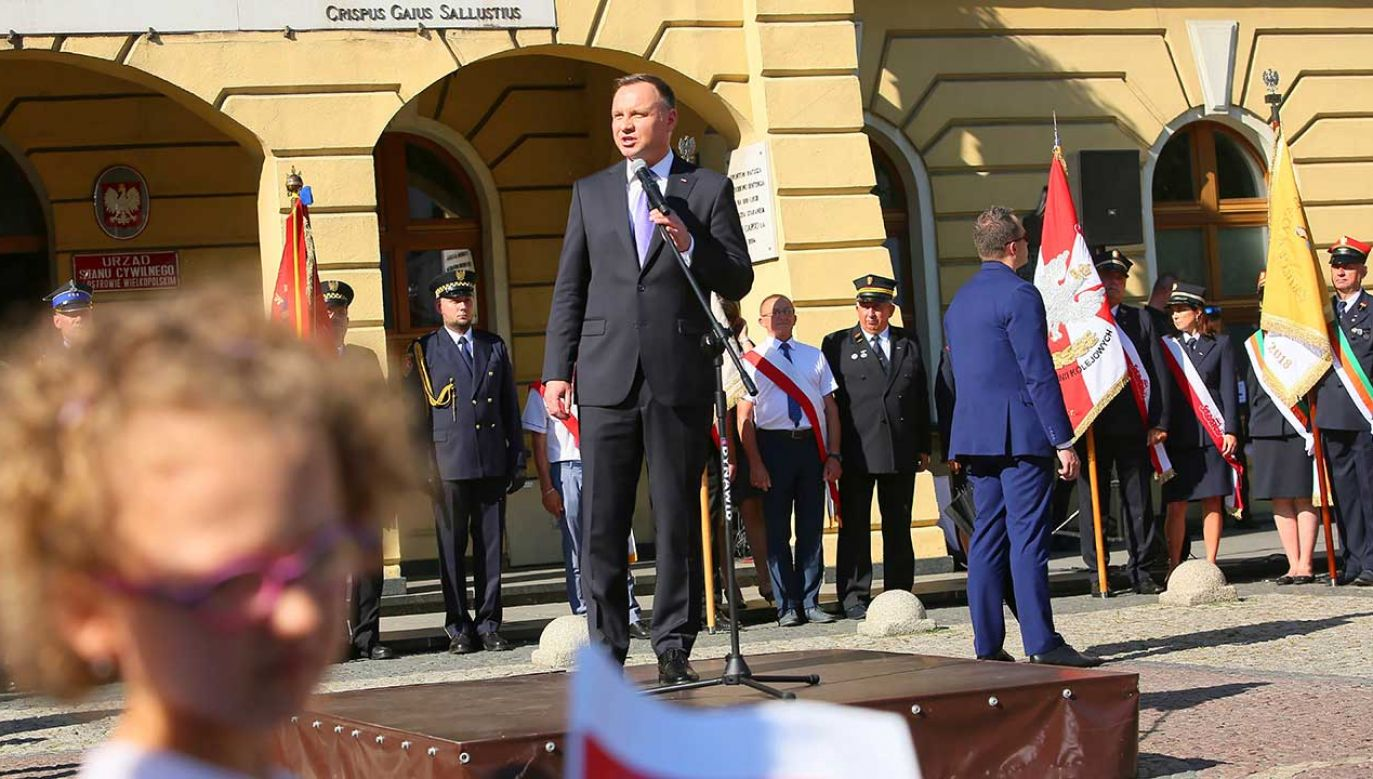 Prezydent Andrzej Duda (fot. (fot. PAP/Tomasz Wojtasik))