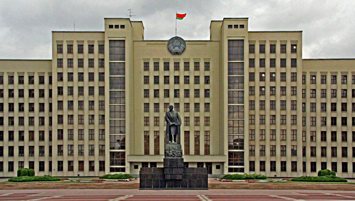Siedziba Izba Reprezentantów Zgromadzenia Narodowego Republiki Białorusi (fot. Nuno Godinho)