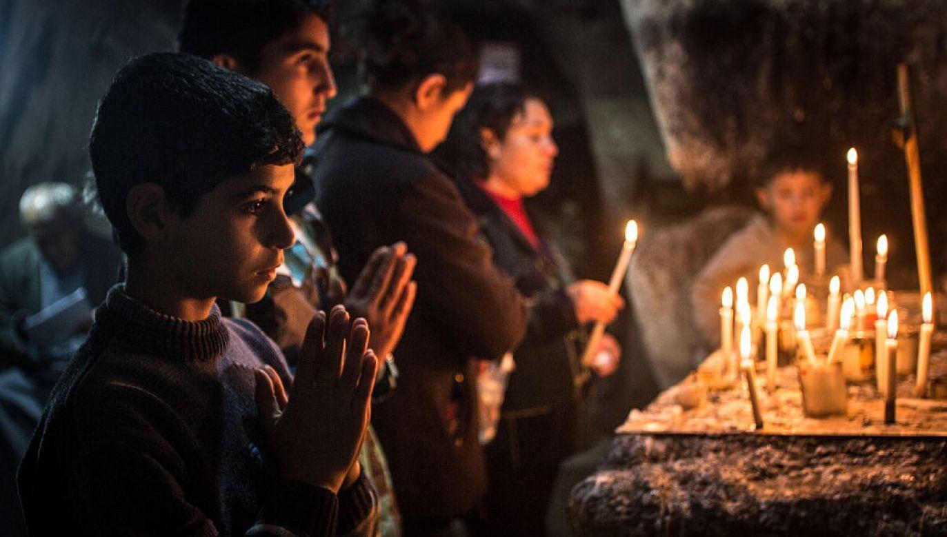 Kard. Sako zapewnił, że Kościół iracki wspiera wysiłki nowej władzy na rzecz przywrócenia stabilności i bezpieczeństwa (fot. Matt Cardy/Getty Images)
