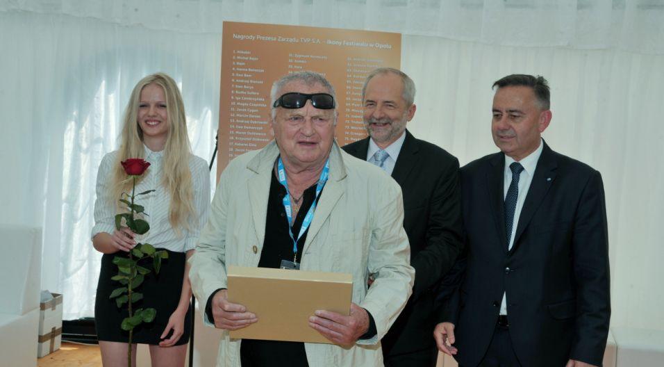 Jerzy Gruza, reżyser festiwalowych koncertów (fot. Ireneusz Sobieszczuk/TVP)