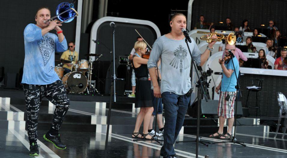 Na koncercie zaśpiewają bracia Golec, nagrodzeni pierwszego dnia festiwalu w kategorii SuperPremiery (fot. J. Bogacz)
