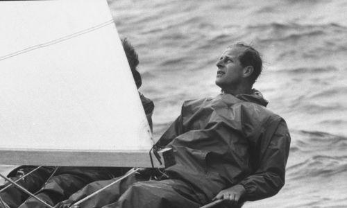 Uczestniczył w regatach żeglarskich. Fot. George Silk/The LIFE Picture Collection via Getty Images