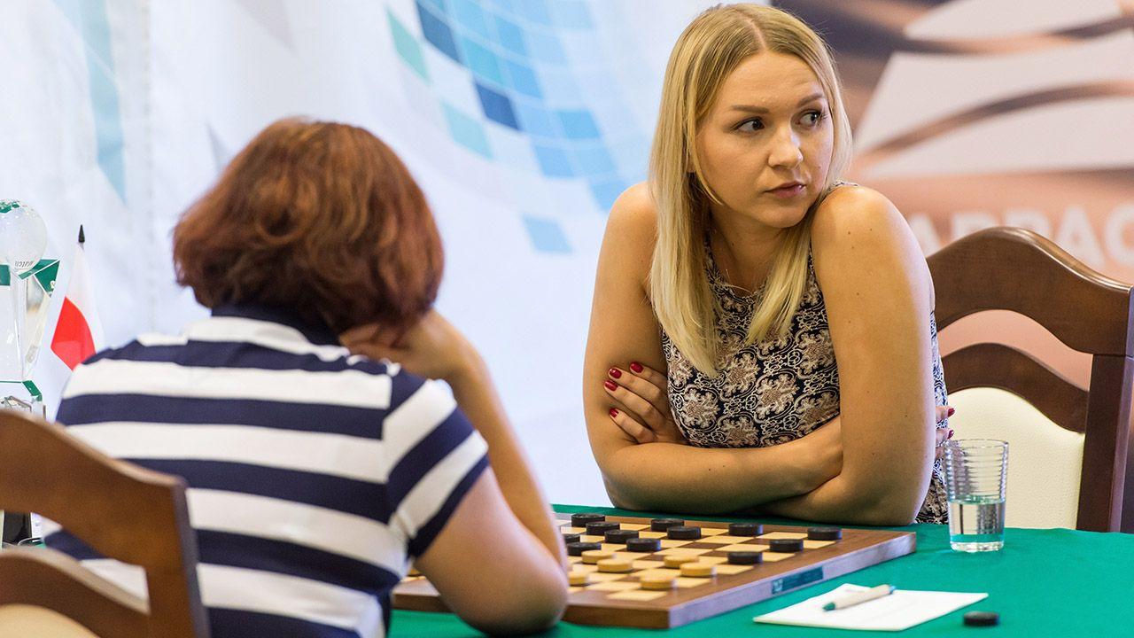 Natalia Sadowska w trakcie zawodów (fot. arch.PAP/Maciej Kulczyński)