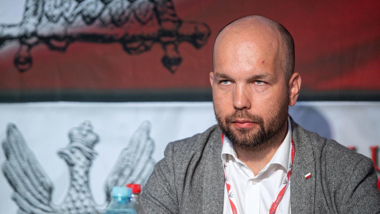 Wojciech Mucha (fot. PAP/Grzegorz Michałowski)