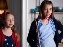Dziewczynki zaś mają ambitne plany po szkole – francuska naleśnikarnia i francuski film. Szyk także musi być francuski! (fot. A. Rybak)
