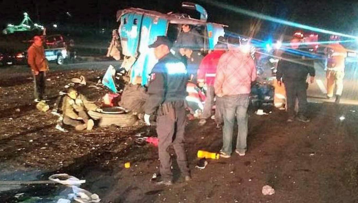 Na razie nie wiadomo, dlaczego doszło do wypadku (fot. TT/Heinz Zeta)