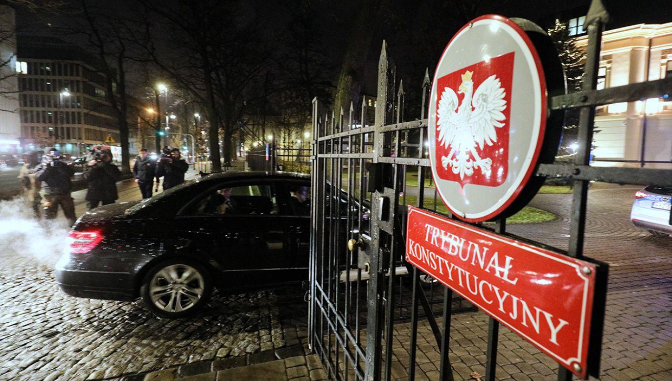 Przewodniczącym składu orzekającego będzie prezes Trybunału Julia Przyłębska, a sprawozdawcą sędzia Krystyna Pawłowicz (fot. arch.PAP/Paweł Supernak)