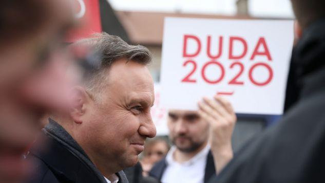 Prezydent RP Andrzej Duda przed spotkaniem z mieszkańcami Turku (fot. PAP/Leszek Szymański)