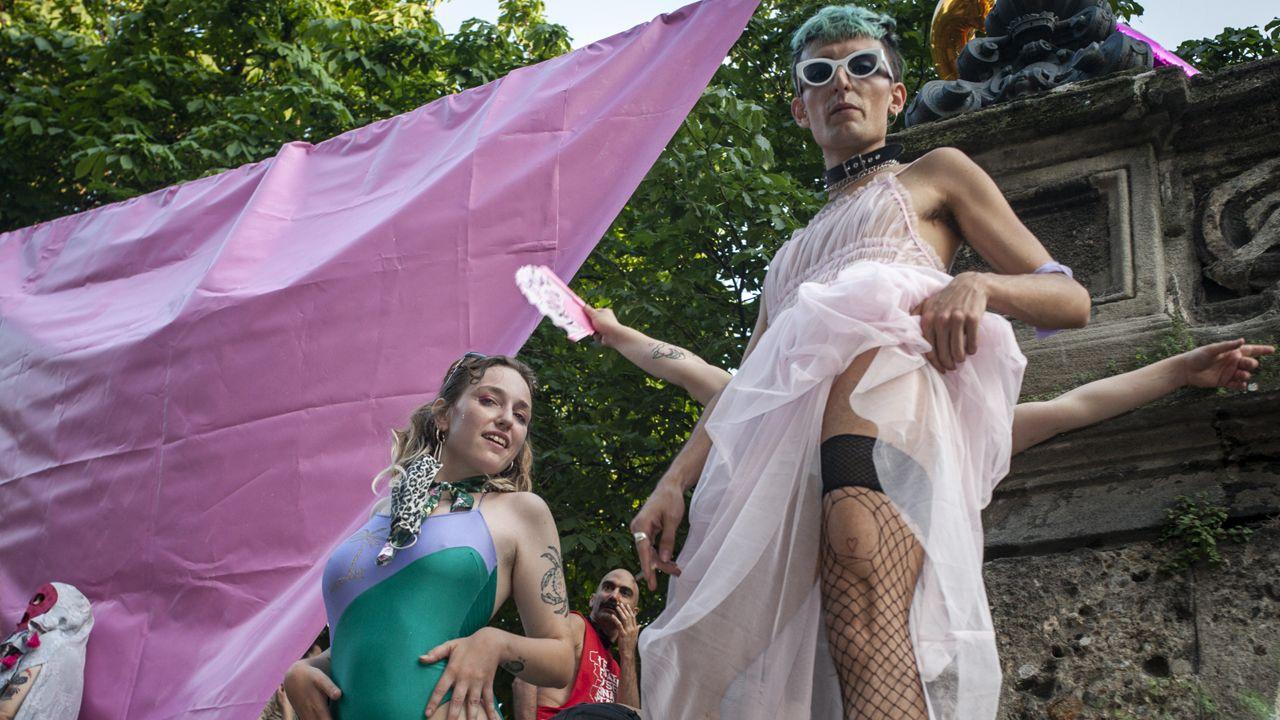 Projekt ustawy przewiduje kary do 6 lat więzienia za przemoc wobec osób homoseksualnych i transseksualnych oraz do półtora roku pozbawienia wolności za dyskryminację (fot. Valeria Ferraro/SOPA Images/LightRocket via Getty Images)