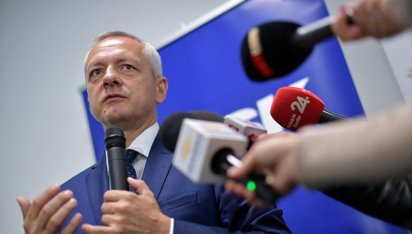 Zajmujemy się nie tylko patostreamami, ale także całą sferą związaną z cyberprzemocą – zapowiedział Marek Zagórski (fot. PAP/Marcin Obara)
