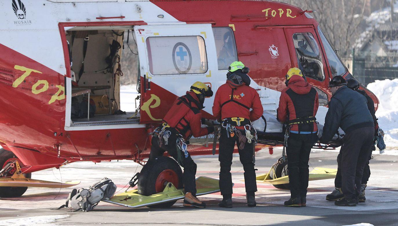 Ciało dostrzegli ratownicy  (fot. PAP/Grzegorz Momot)