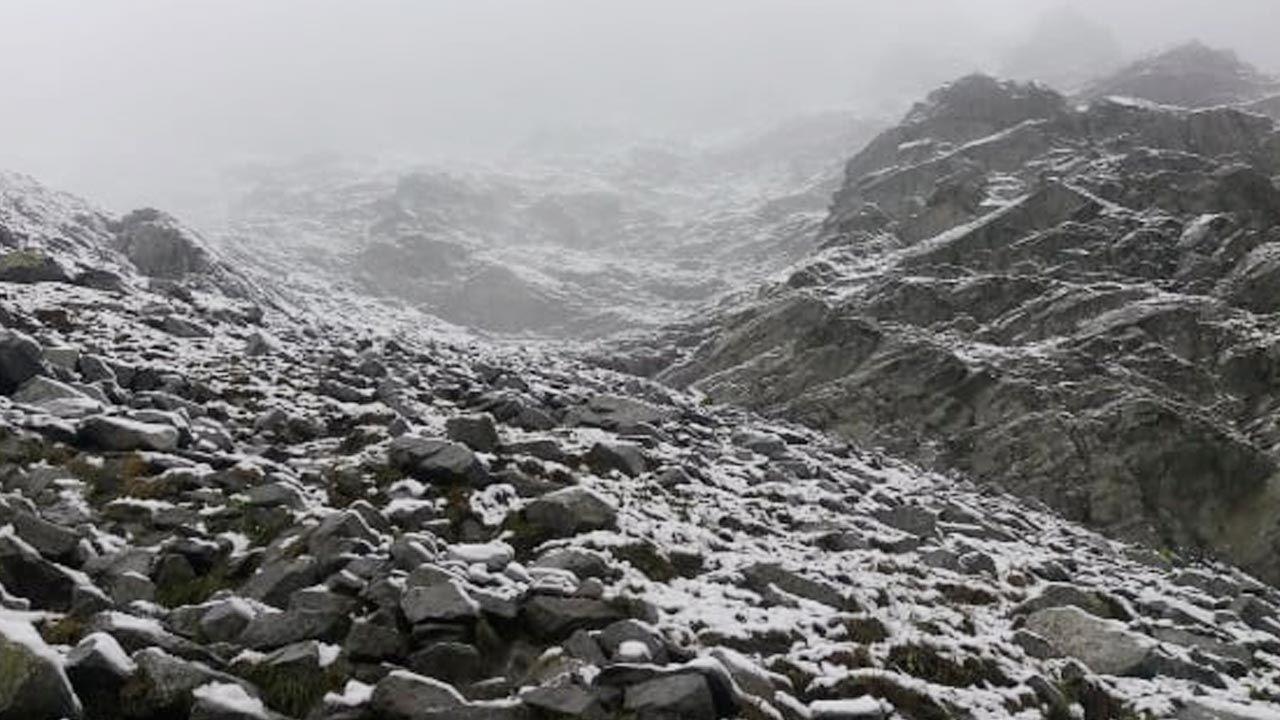 Szlak prowadzący na Rysy (fot. portal TVP Info)