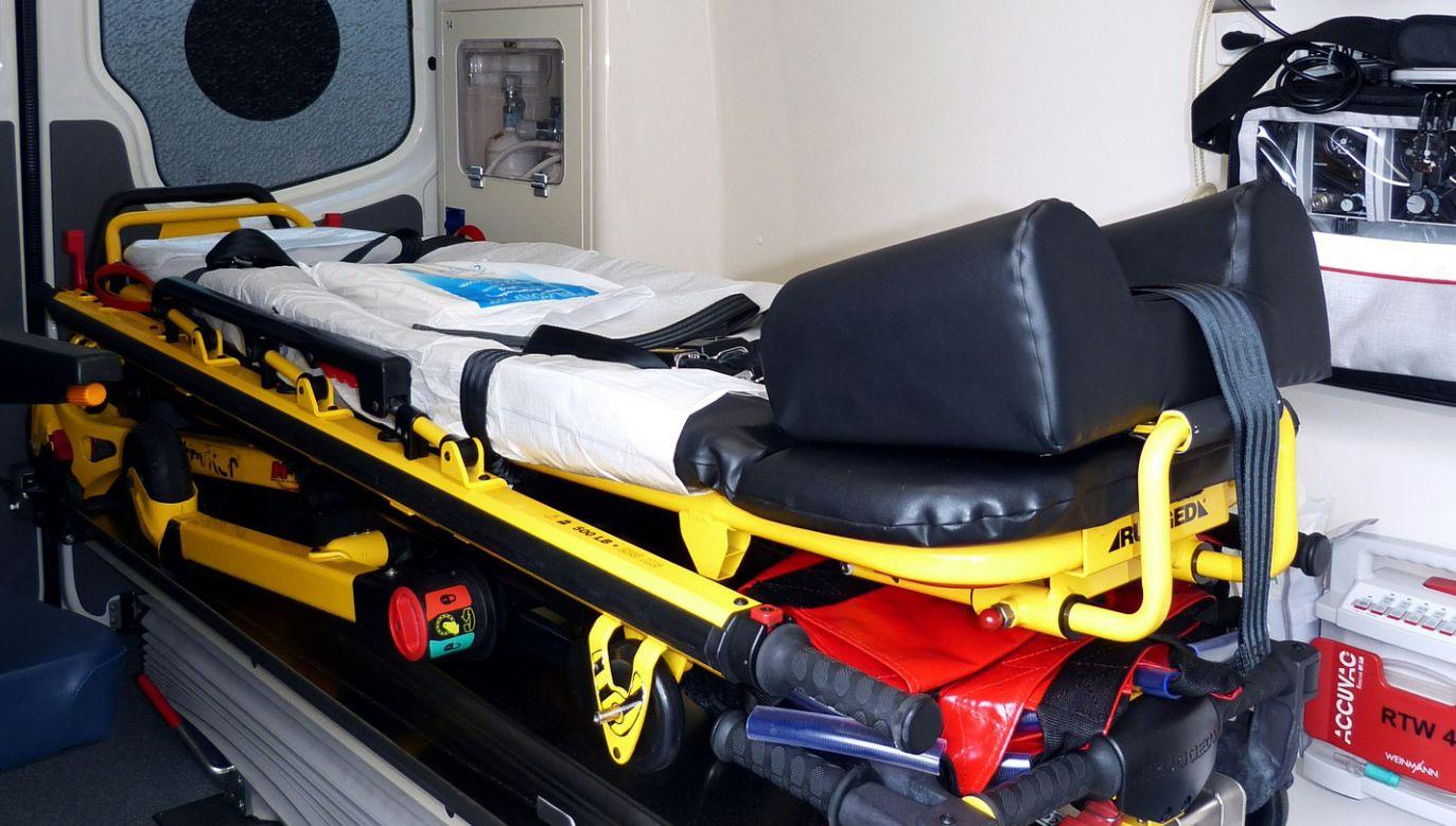 Po wypadku siedem osób odwieziono do szpitala (fot. Pixabay/Falco)