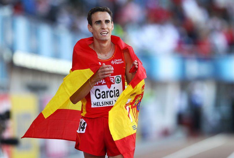 Victor Garcia zdobył brąz na 3000 metrów (fot. Getty Images)