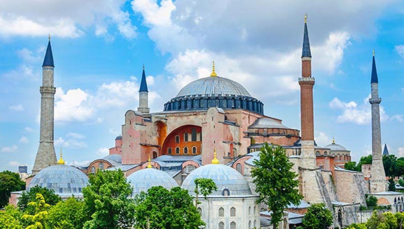 Hagia Sophia znajduje się na Liście Światowego Dziedzictwa UNESCO (fot. Shutterstock/Anna Jedynak)