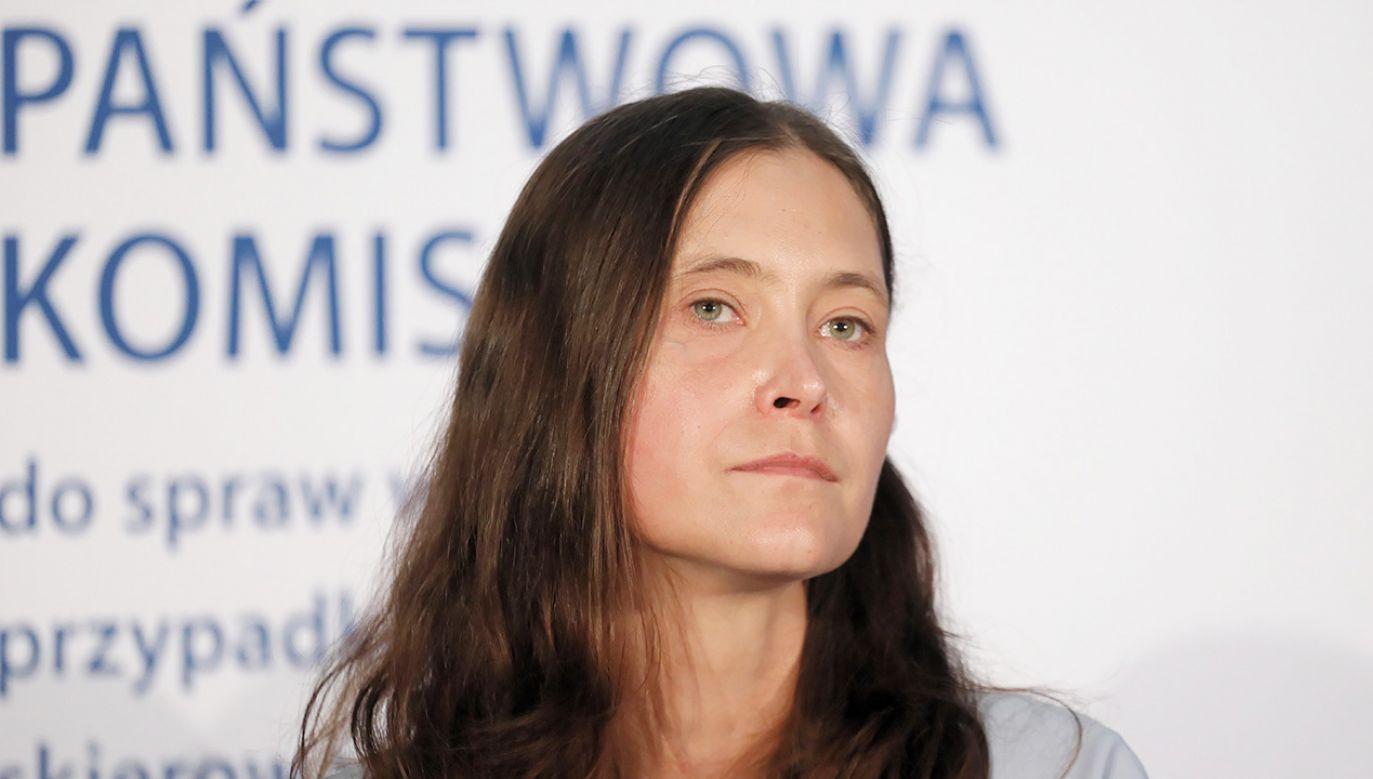 Wiceprzewodnicząca komisji ds. pedofilii Hanna Elżanowska (fot. PAP/Paweł Supernak)
