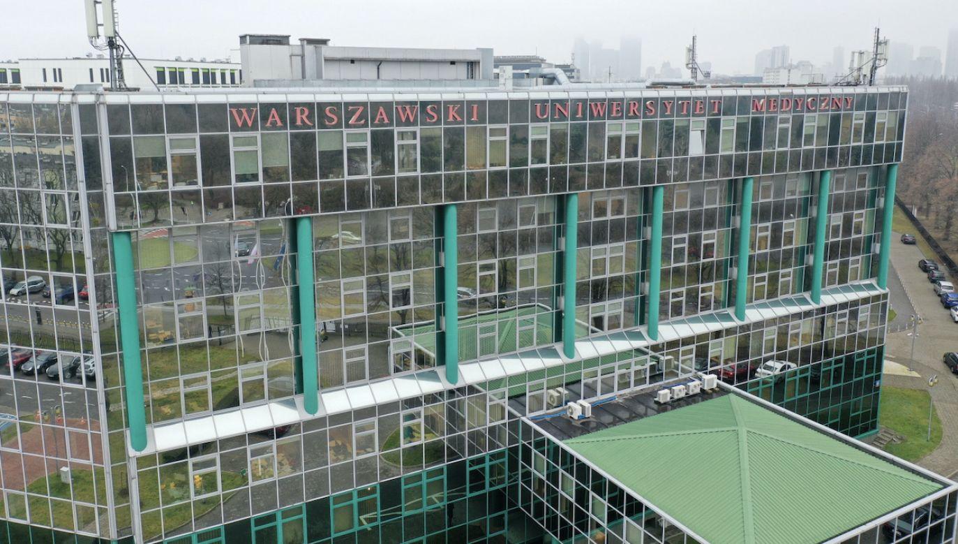Pismo ma związek z wywiadem udzielonym przez rektora  WUM (fot. PAP/Leszek Szymański)