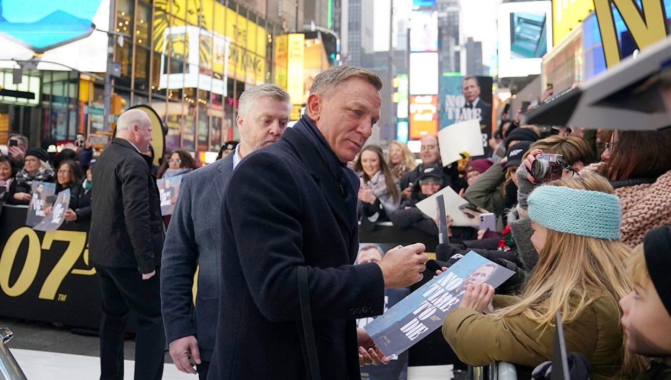 """""""Nie czas umierać"""" będzie 25. filmem z cyklu przygód Jamesa Bonda (fot. REUTERS/Carlo Allegri)"""