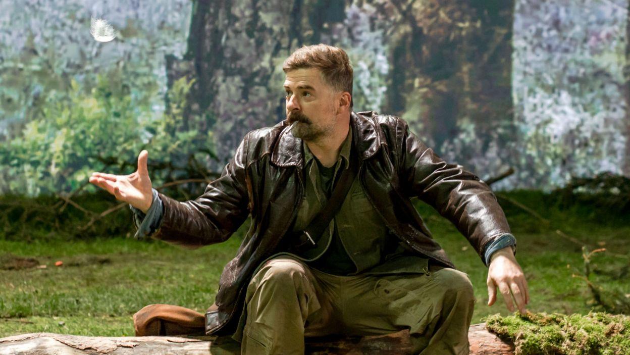 Głównym bohaterem jest Marcin Kabat (w tej roli Michał Majnicz), który po latach wojaczki wraca w rodzinne strony (fot. Sylwia Penc)