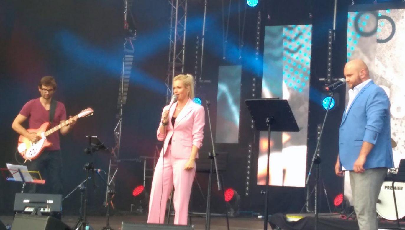 Olga Szomańska związana jest m.in. z Telewizją Polską (fot. Beata Sylwestrzak)