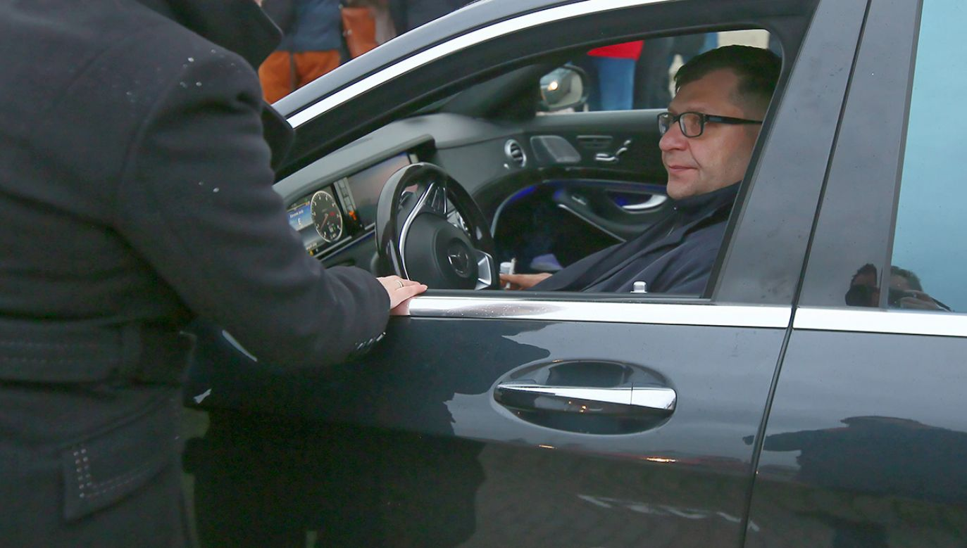 Zbigniew Stonoga został zatrzymany przez policję w grudniu 2019 roku (fot. arch.PAP/Tomasz Wojtasik)