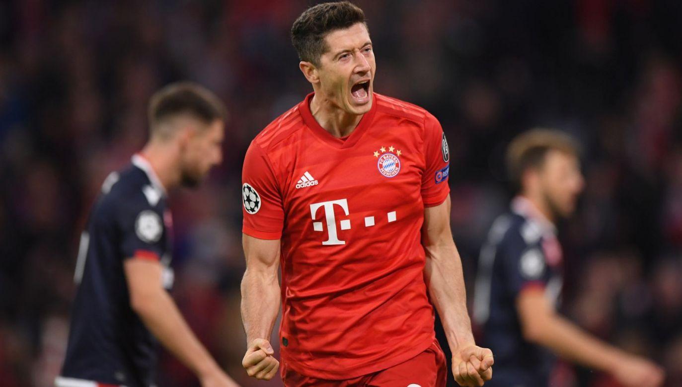 Liga Mistrzów. Bayern – Crvena zvezda: Robert Lewandowski (fot. Getty Images)