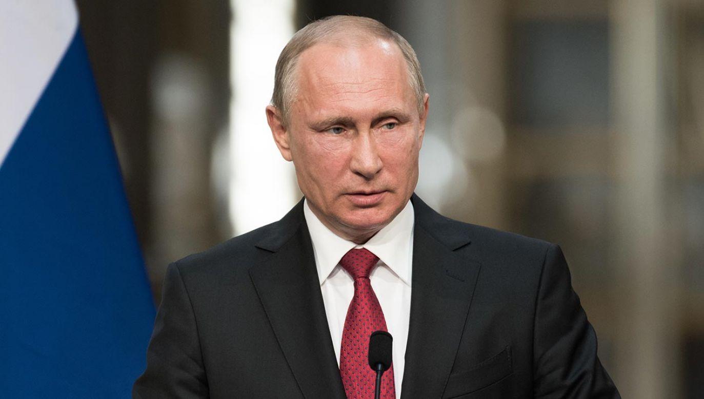 Prezydent Rosji Władimir Putin (fot. Shutterstock/Frederic Legrand - COMEO)