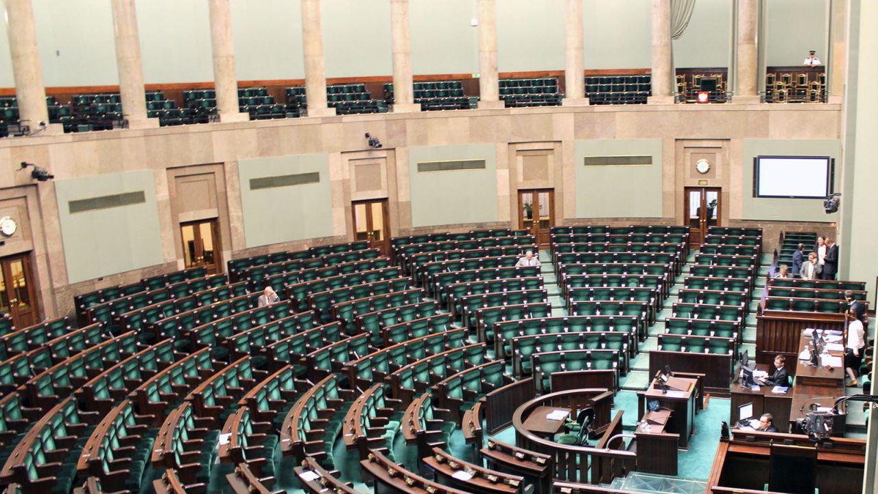 Część posłów pożegna się z Sejmem (fot.  flickr.com/Lukas Plewnia)